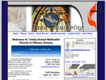 View an example of our template site package by checking out Trinity United Methodist Church
